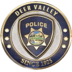 Deer Valley Police Challenge Coin