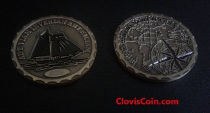 Custom Challenge coin front and back